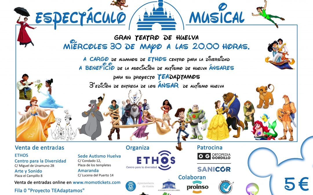 Espectáculo musical basado en la música de Disney