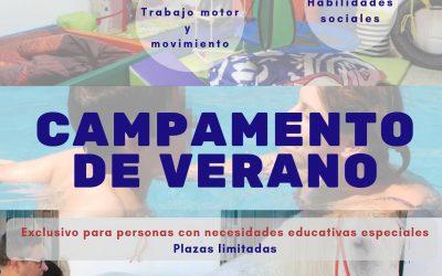 Campamento de verano exclusivo para niños con necesidades educativas especiales