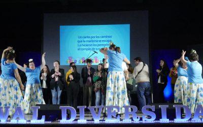 Éxito de la gran fiesta por la inclusión